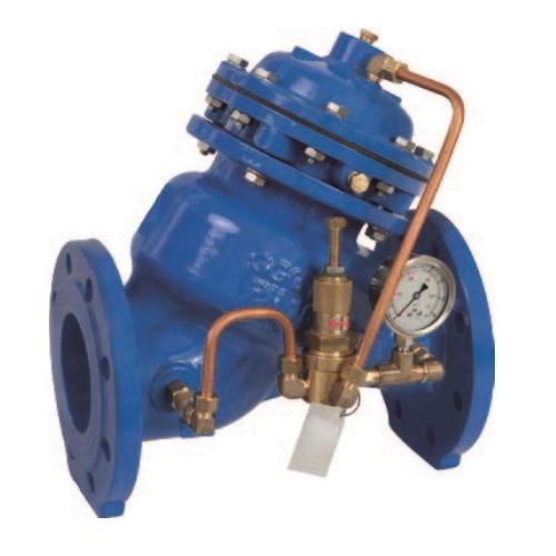 Редукционный клапан снижения давления (регулятор давления воды)