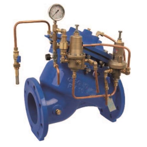 Регулирующий клапан (регулятор давления воды) для защиты и предотвращения гидроударов ИНОТЭК 400-КАРД-13-88