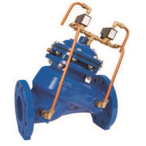 Регулирующий клапан (регулятор давления воды) с низким энергопотреблением, управляемый контроллером ИНОТЭК 400-КАРД-19-88