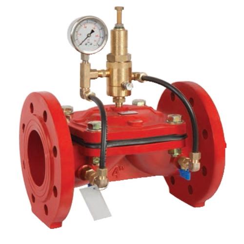 Регулирующий клапан (регулятор давления воды) для поддержания давления «до себя» ИНОТЭК 200-КАРД-05-58