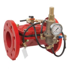 Клапан, поддерживающий разность давлений на входе и выходе