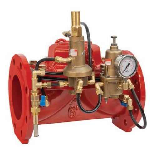 Регулятор давления воды (регулирующий клапан), регулирующий расход и давление