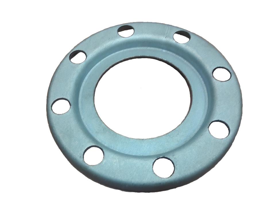 Стальные и нержавеющие прессованные, штампованные фланцы (в т.ч глухие фланцы, заглушки) ISO, DIN, ГОСТ с защитным покрытием и без покрытия. Сталь 20, стандарт ISO, оцинкованный.