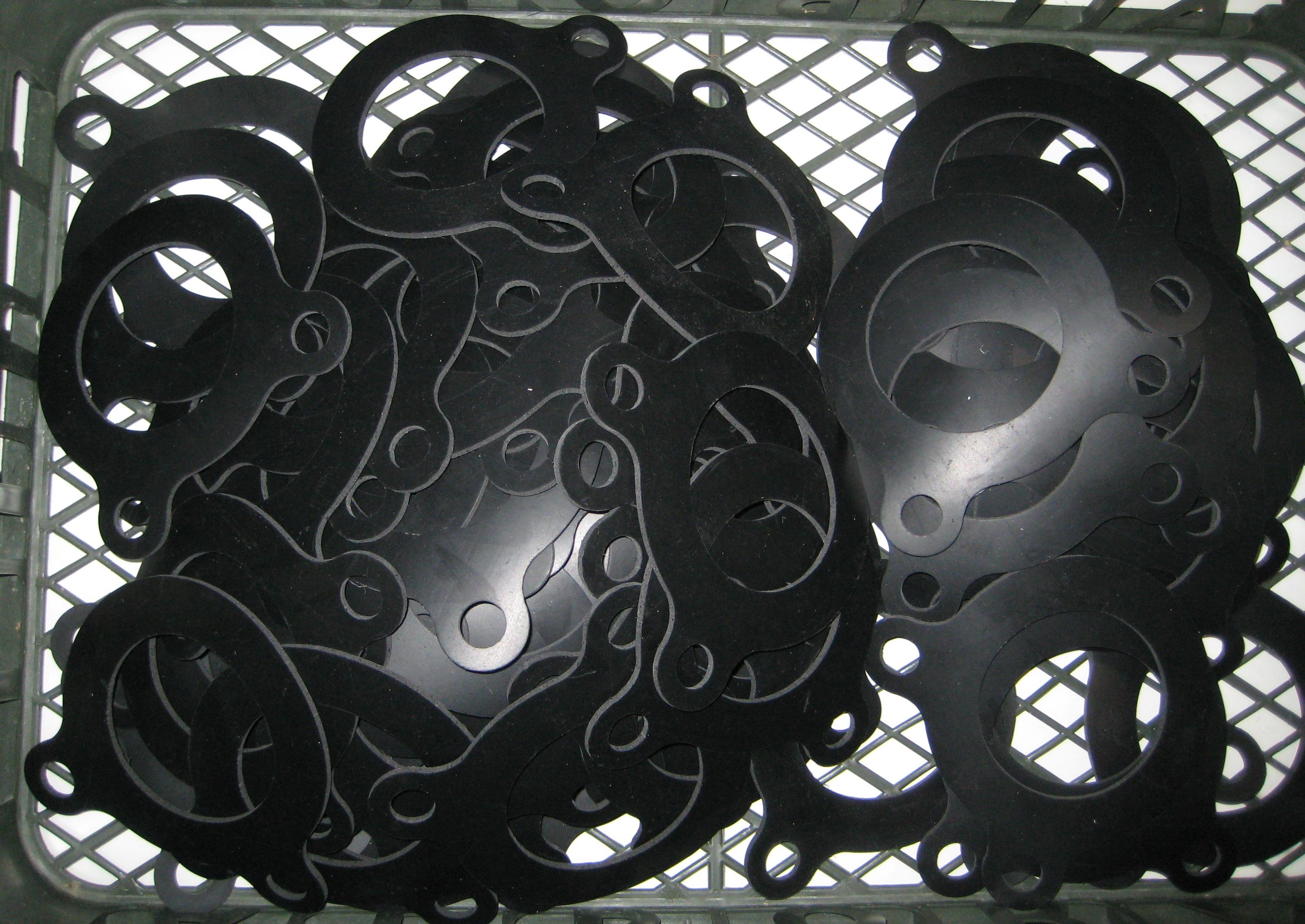 ИНОТЭК Резиновое пресс-фланцевое уплотнение ПФУ для отбортовок ISO