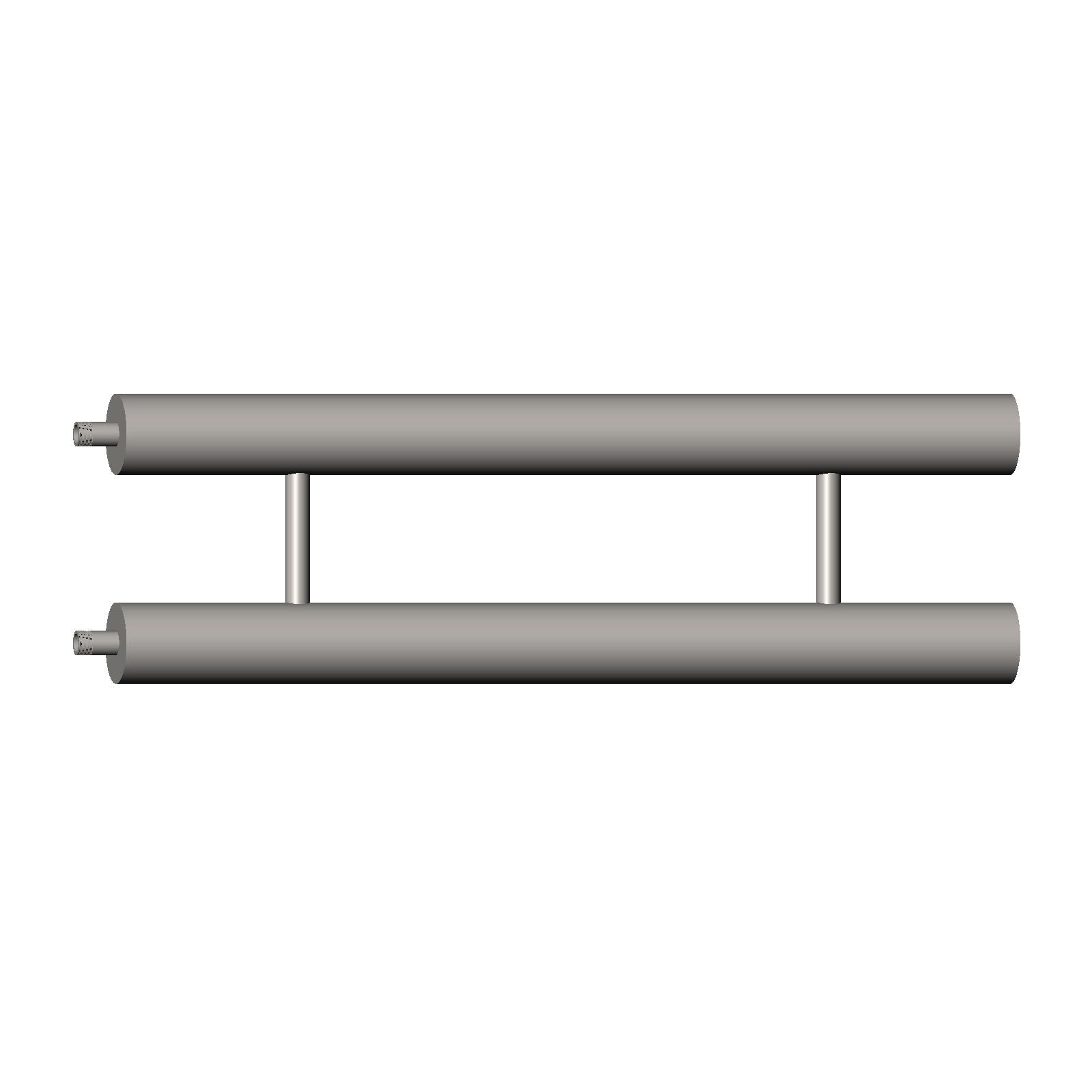 Производство отопительных регистров ИНОТЭК серии РОС из стали для систем отопления лечебных учреждений.
