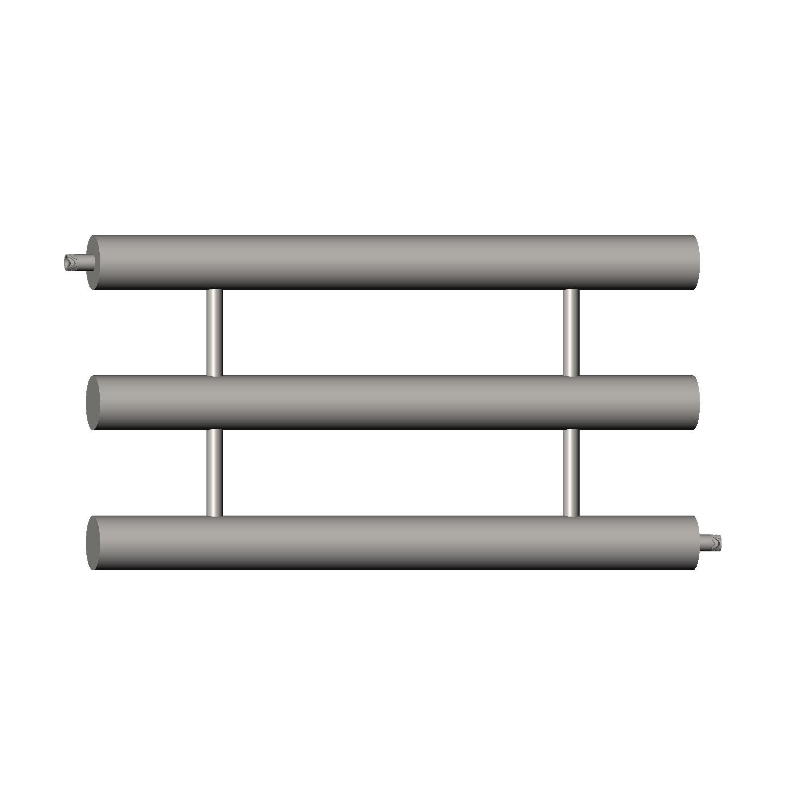 Отопительный регистр секционный стальной РОС 3х80